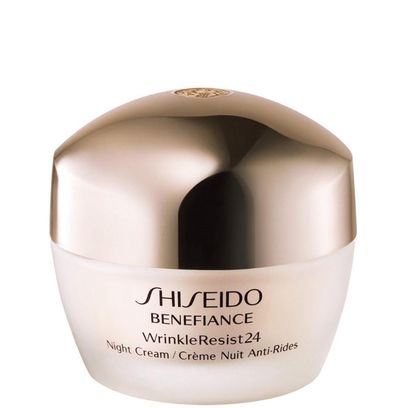 shiseido benefiance wrinkle resist 24 night cream crema viso notte crema viso pelli secche cod. Black Bedroom Furniture Sets. Home Design Ideas